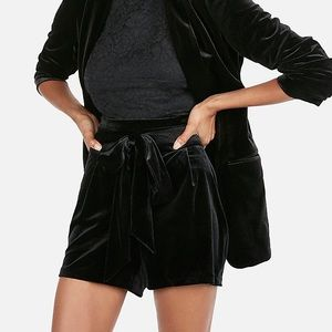 Velour Express Shorts